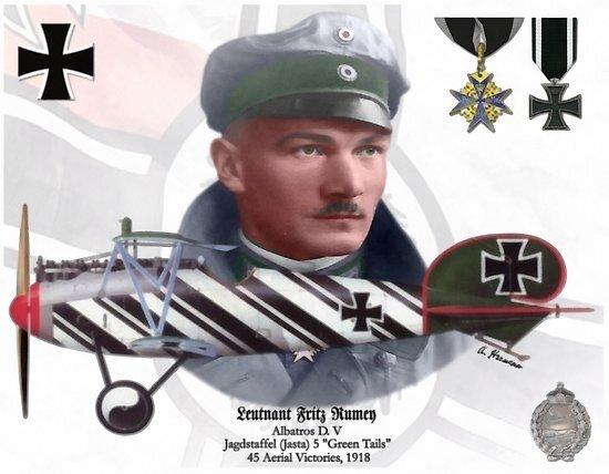 1918-10-09 - aviateur Fritz Rumey