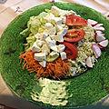 petite salade con mozzarella