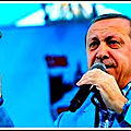 Les menaces d'erdogan