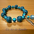 Bracelet Plume Turquoise (3)