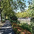 Promenade le long du canal