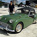 Triumph tr3, 1955 à 1957