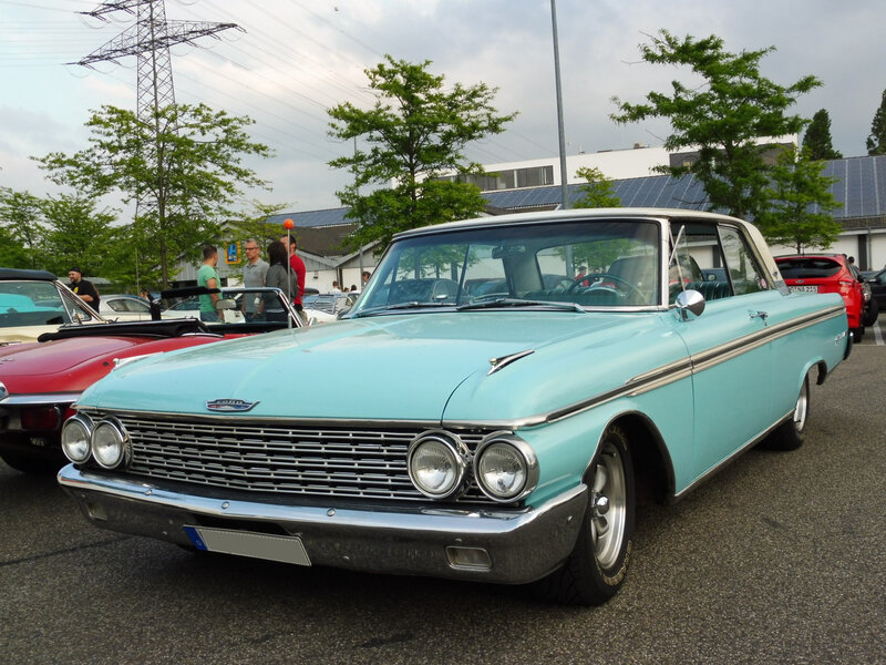 FORD Galaxie 500XL 2door Club Victoria 1962 Offenbourg (1)