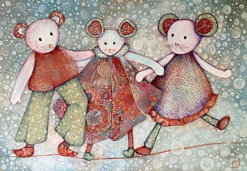 les 3 souris
