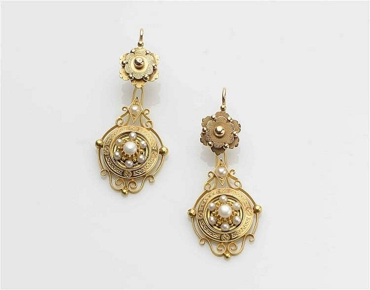 Pendants d'oreille