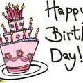 Joyeux anniversaire...