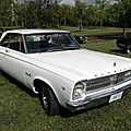 Plymouth belvedere ii hardtop coupe-1965