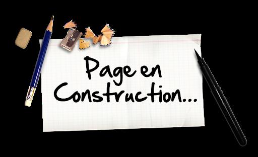 page en cours de construction