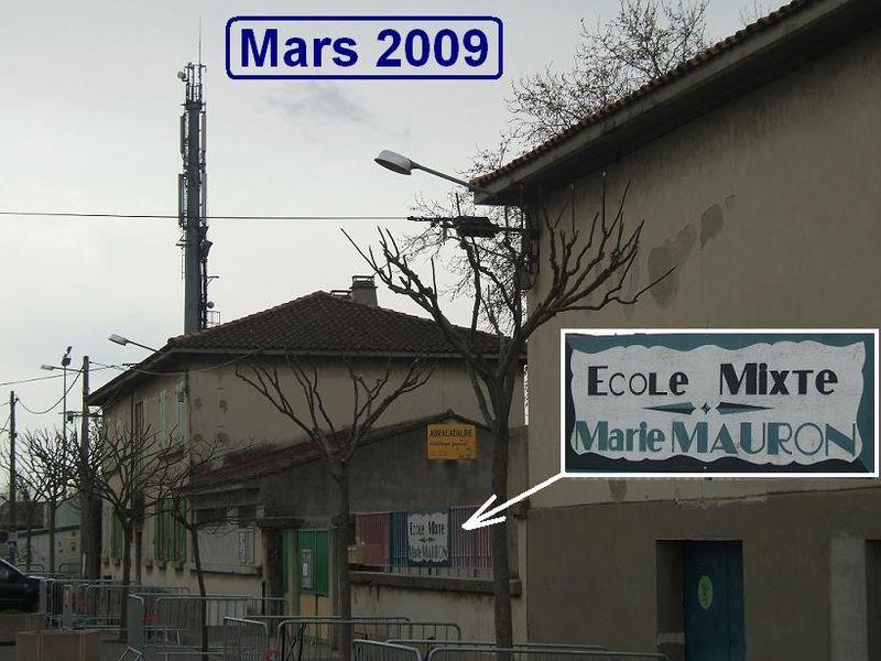 Ecole mars 09