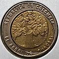500 pesos coeur déformé