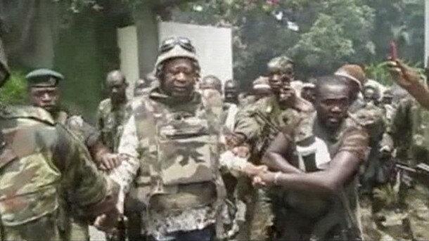 Laurent Gbagbo : Les hélicoptères français ont mis le feu à l'intérieur de la résidence en tirant des munitions incendiaires