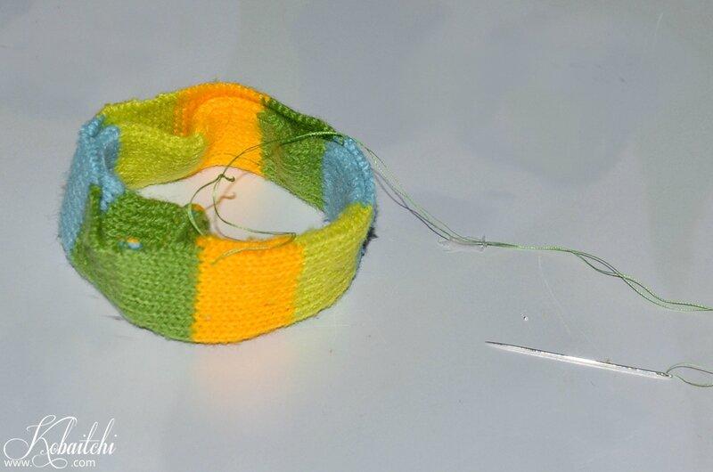 DIY bracelet en pull (3)