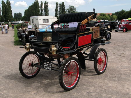 MILWAUKEE Stanhope Steam Car (Vapeur) 1900 Rohan Locomotion de Saverne 2010 1
