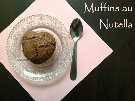 muffins au nutella blog