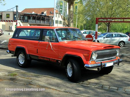 Jeep cherokee chief de 1977 (Retrorencard mai 2013) 01
