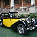 Bugatti type 57 galibier 1936