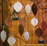 Folhas Decorativas em Croche
