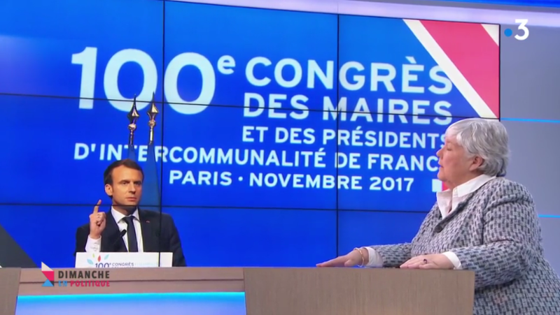 GOURAULT MACRON CONGRES DES MAIRES MEDIA DIXIT WORLD