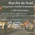 Invitation des associations au marché de noel 2015