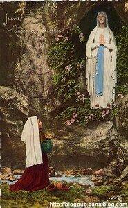 Lourdes_Apparition_de_la_ste_Vierge