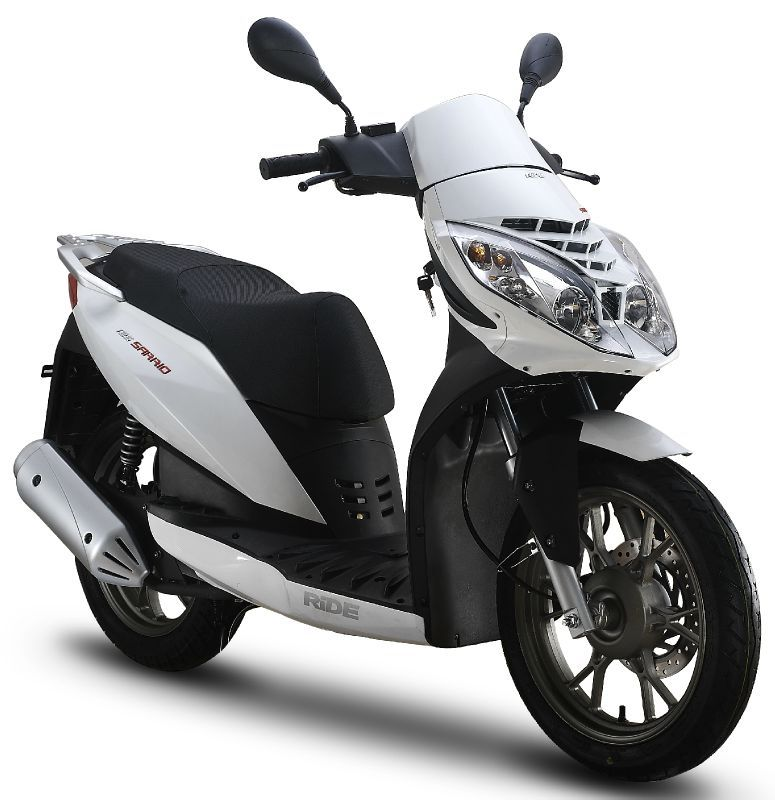 scooter 125cc ride sarrio norauto. Black Bedroom Furniture Sets. Home Design Ideas