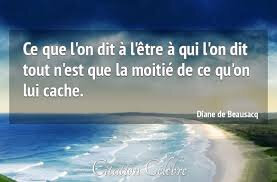 Citation Diane de Beausacq