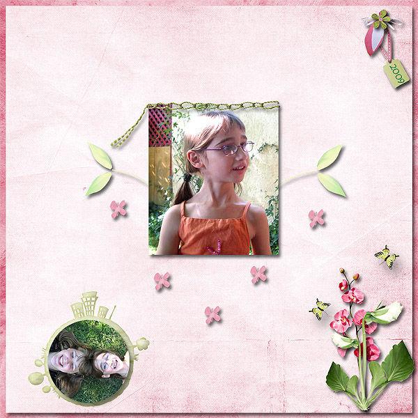 Page de Lucie