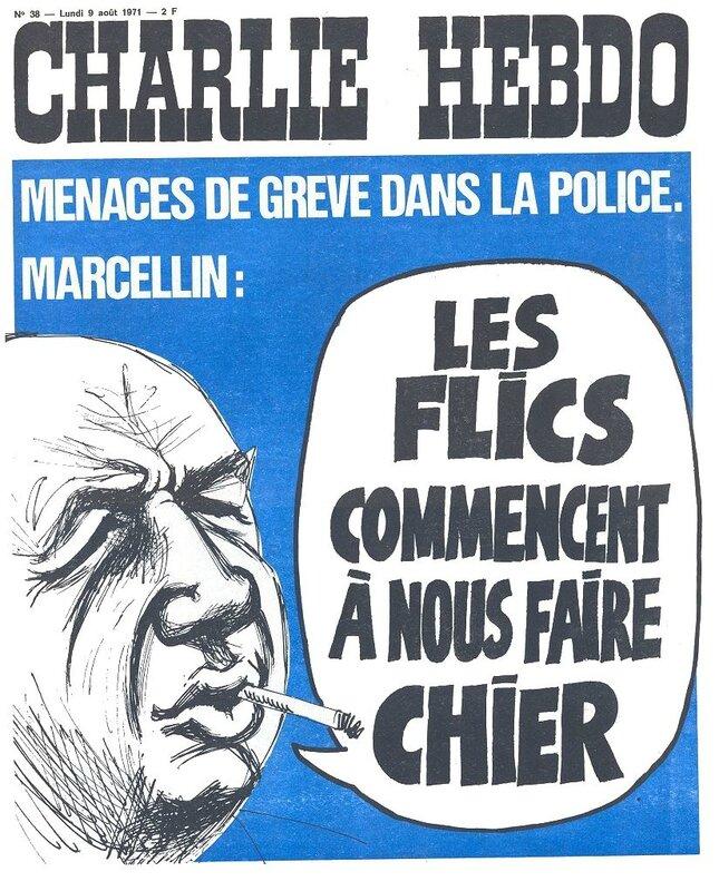 Charlie Hebdo no38 - Dessin de Cabu