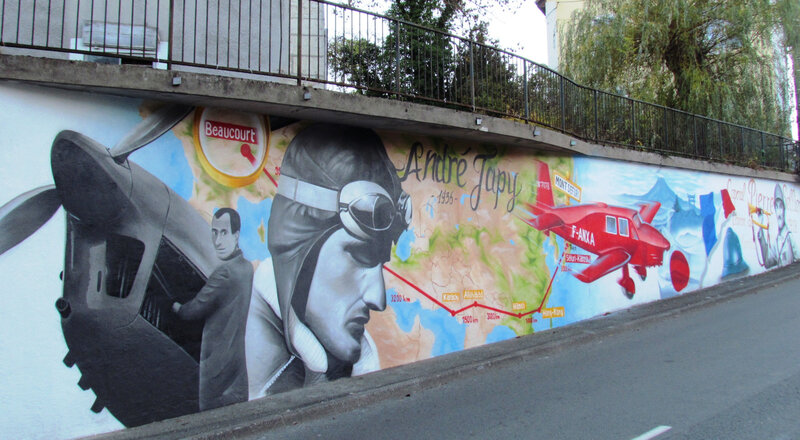 Fresque Beaucourt Sellier & Japy Photo F