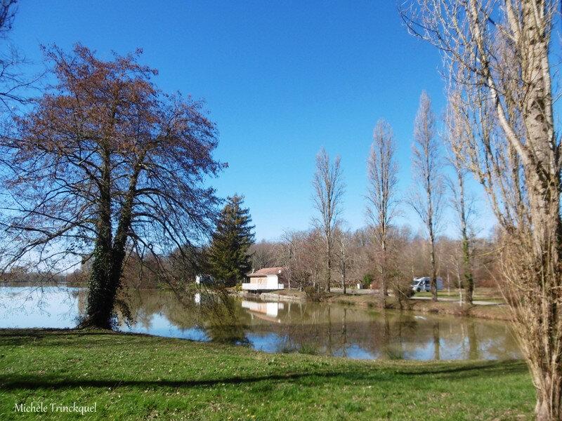 Lac du Houga 150219
