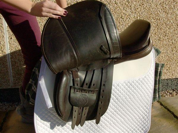 native pony saddle