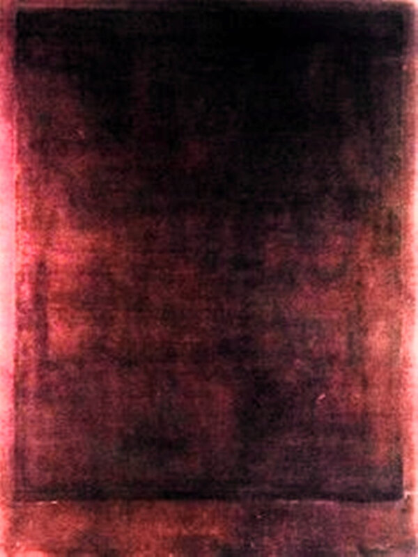 Salon 12 - Red over Dark, N°207 Mark Rothko
