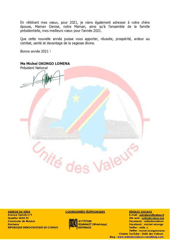 MESSAGE DE VOEUX AU CHEF DE L ETAT-page-002