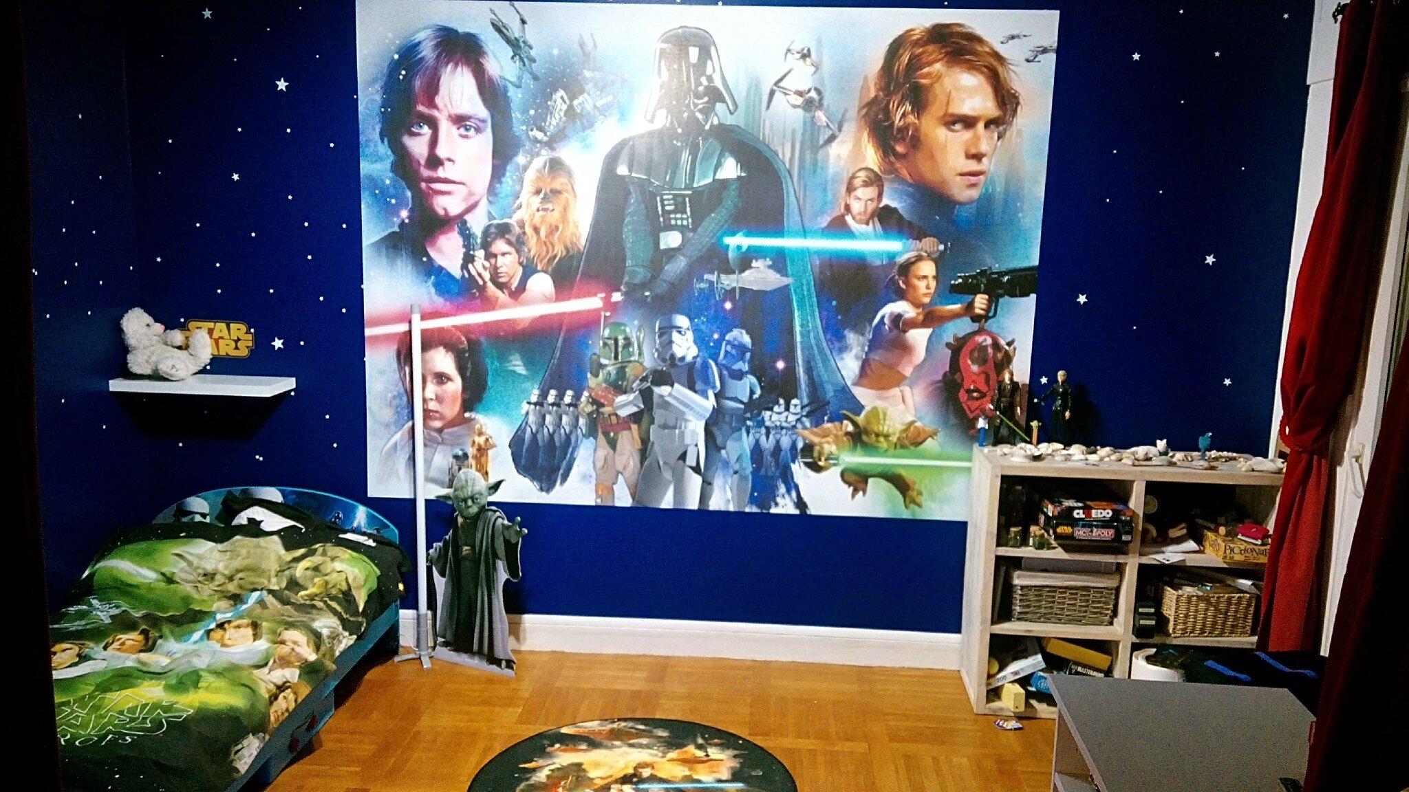 Chambre Star Wars Decoration Chambre D Enfant Et Jouets En