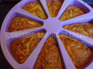 mini cake courgettes saumon 06