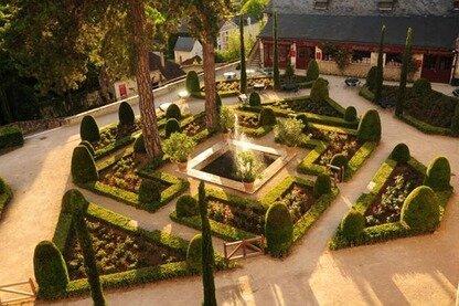 Terrasse Jardin Crèperie Bar Clos Lucé