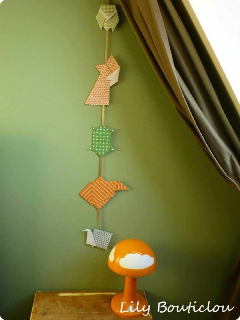 Guirlande origami lilybouticlou