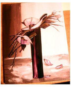 003 fleur maron