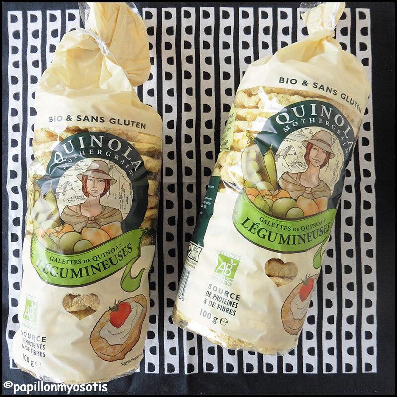 Galettes de quinoa Quinola Mothergrain