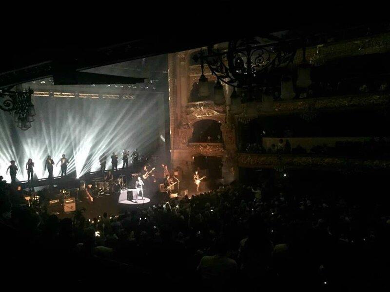 le 08 mars 2016 Rester Vivant Tour au Gran Theatre del Liceu de Barcelone (9)