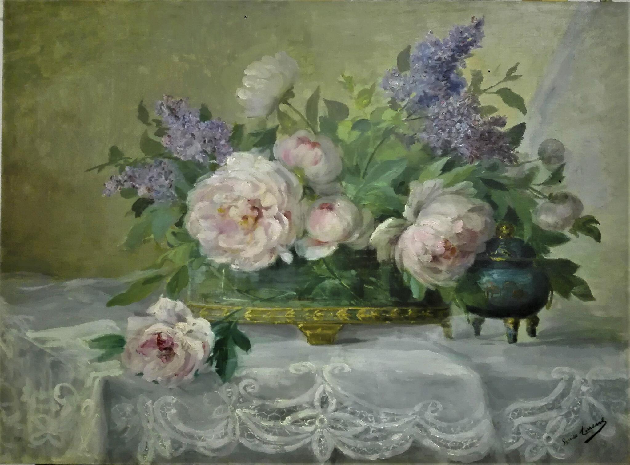 ... Bouquet de pivoines... de Louise Terrasse