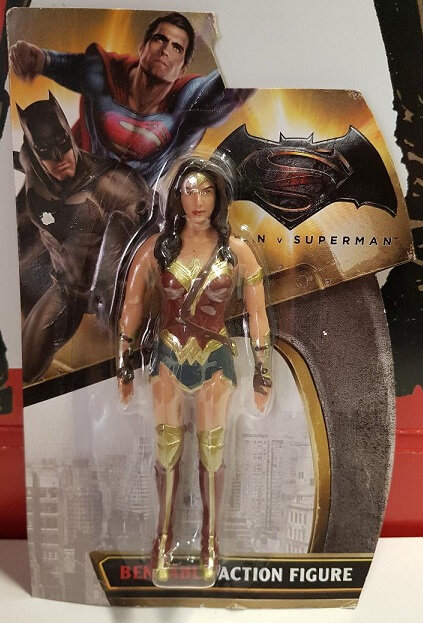 toys wonder woman bendable action figure