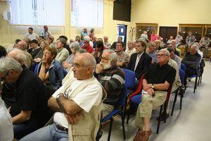 barrages public Sélune législatives 2012 Ducey réunion débat