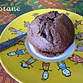 Muffins chocolat au baileys