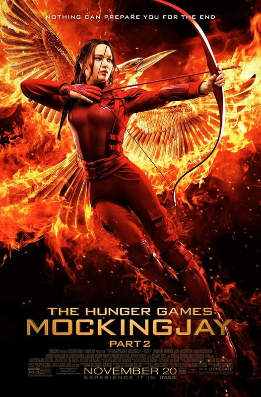 Hunger Games Mockingjay - Part 2 movie poster