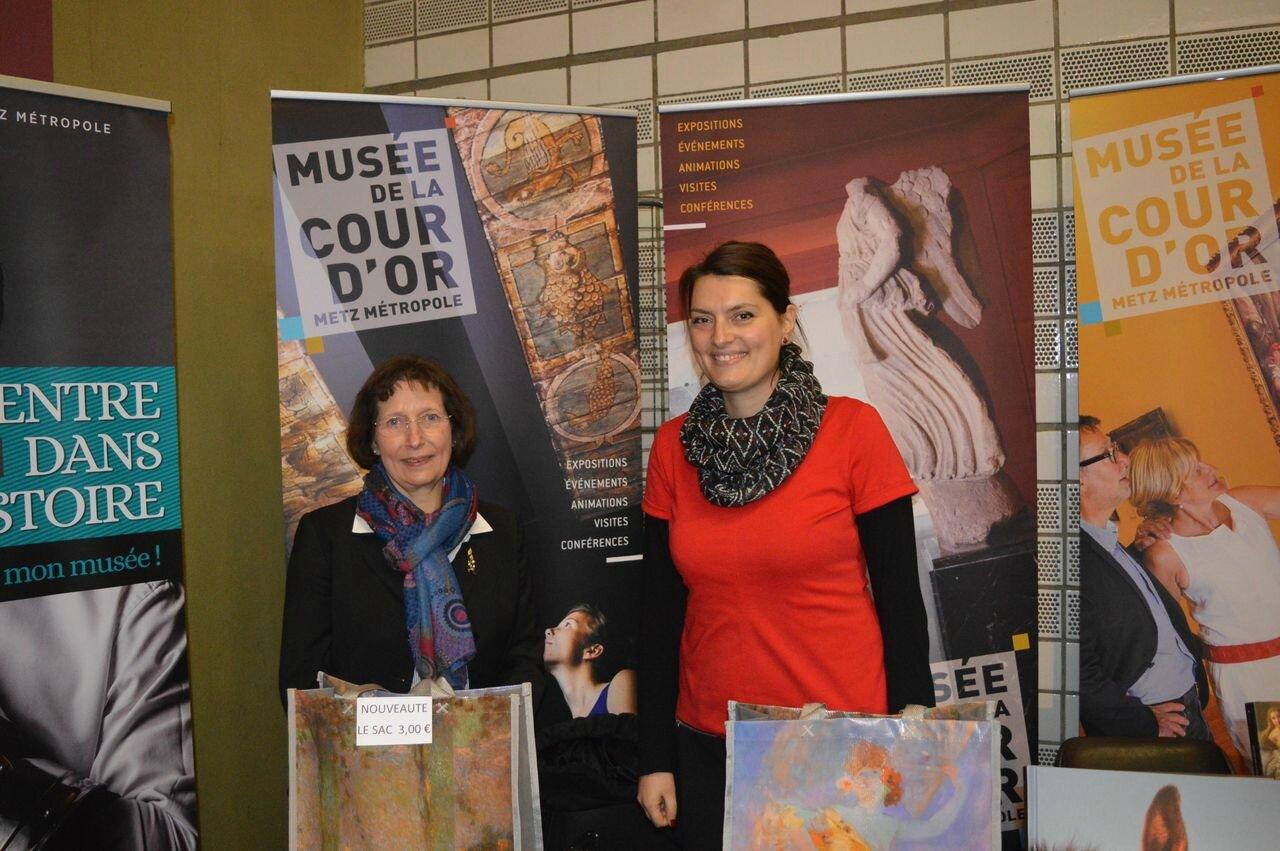 Les ambassadrices du Musée de la Cour d'or