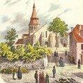 L'eglise saint georges de neris
