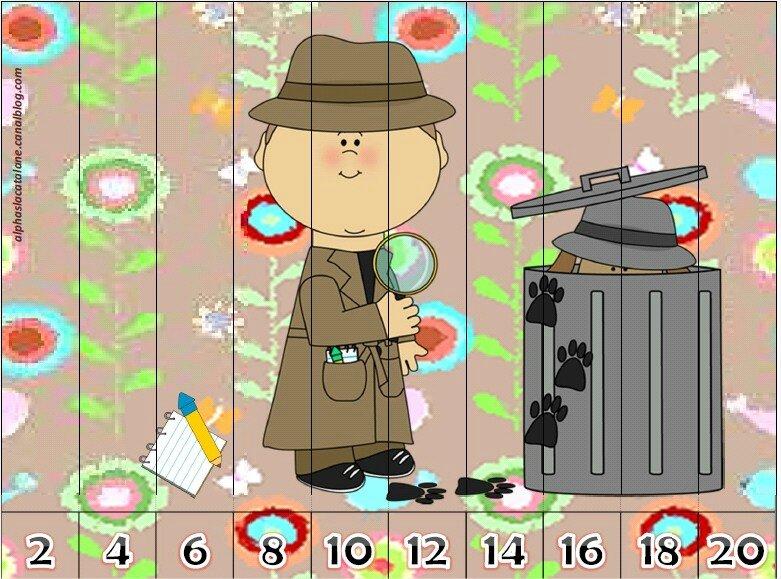 Nombres puzzle 2 en 2 (LaCatalane) 1