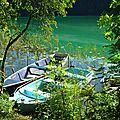 Barques de pêcheurs Lac de Chambly Jura