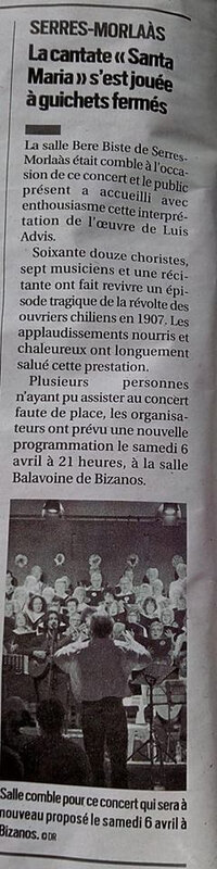 Serres-Molaas concert review